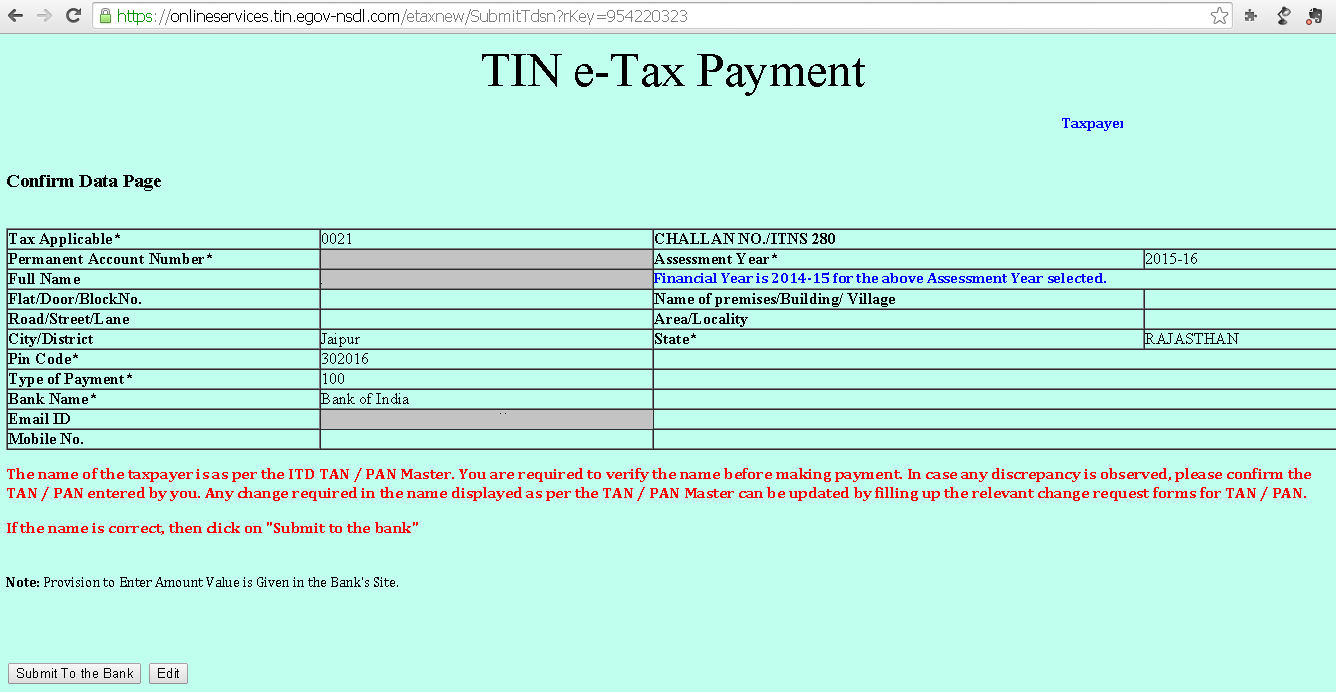 How to pay income tax online - TaxAdda