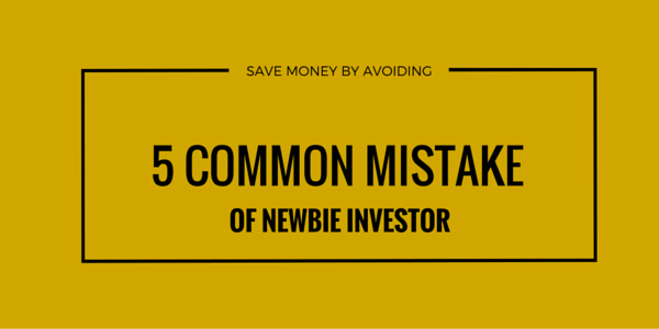 mistakes of new investors
