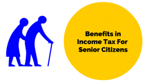 senior citizen's benefit in income tax