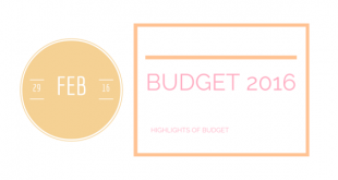 Budget 2016 highlights
