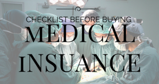 Points to be considered before buying medical insurance