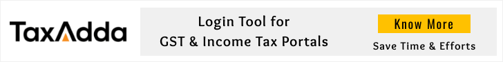 gst and income tax portal login tool