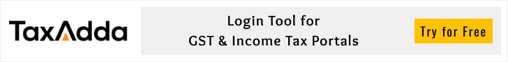 GST and Income tax login tool