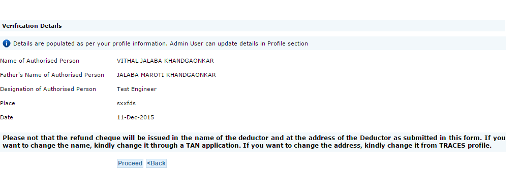 File request for refund of excess TDS deposited by Deductor - TaxAdda