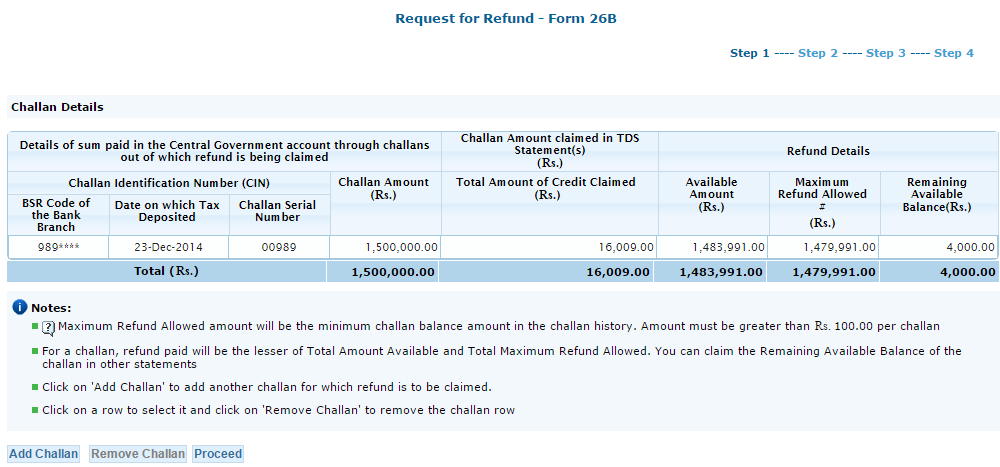 File request for refund of excess TDS deposited by Deductor