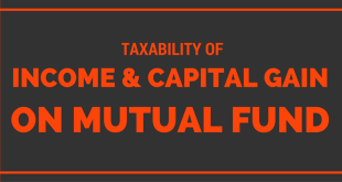 Taxability of Income & Capital Gains from Mutual Funds
