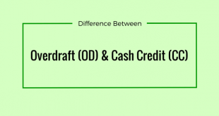 overdraft and cash credit account